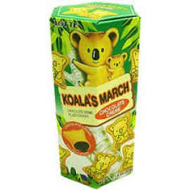 Koala's March (Chocolate Cracker) - 1.45oz by Lotte.