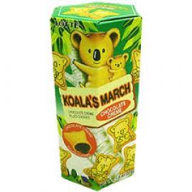 Koala's March (Chocolate Cracker) - 1.45oz by Lotte.