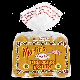 Martin's Long Roll Potato Rolls - 8 per package