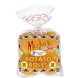 Martin's Potato Rolls -  8 Sandwich Rolls per package