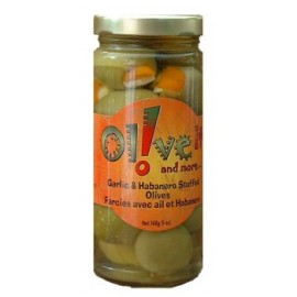 Olive-It Garlic Habanero Stuffed Olives - 8 Ounce