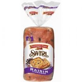 Pepperidge Farm Raisin Cinnamon Swirl Bread 16-Ounce - 2 Pack