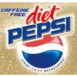 Pepsi Caffeine Free Diet Soda, 24-pack, 12 oz Can
