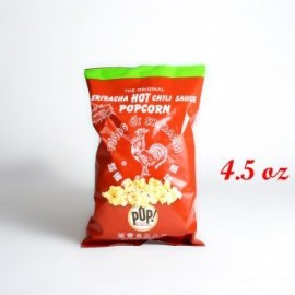 Sriracha Hot Chili Sauce Popcorn